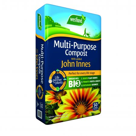 Multi Purpose Compost with John Innes; 50L