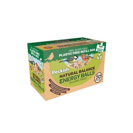 PK Natural Balance Energy Balls 50 Refill Box - image 1